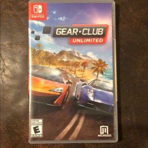 "Nintendo switch game ""gear club unlimited """